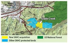 Michaux State Forest Map by Land Protection And Landowner Stories Archives Southern