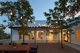 Outdoor String Lights Patio How To Hang Outdoor String Lights U2014 All Home Design Ideas