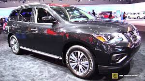 pathfinder nissan 2016 2017 nissan pathfinder sv exterior and interior walkaround
