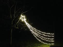 Excellent Design Shooting Star Christmas Light Lights String Gemmy