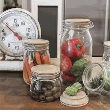 decorative kitchen canisters u0026 jars iron accents