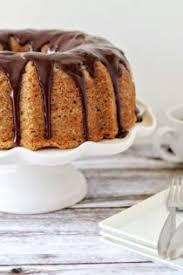 banana bundt cake with chocolate ganache my baking addiction