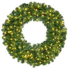 artificial wreaths olympia pine prelit commercial led