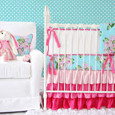 Fancy Home Decor Classy Baby Crib Bedding Pink Fancy Home Decoration For