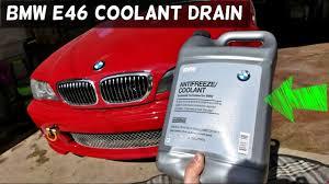 bmw radiator warning light bmw e46 how to drain coolant drain radiator 325i 328i 330i 323i