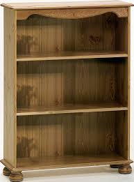 Narrow Pine Bookcase by Bookcases Budget Interiors Exeterbudget Interiors Exeter