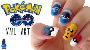 nail art pokemon go design youtube