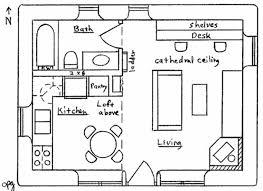 black white architectural plan double small house apartment