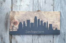 gifts for new apartment owners gift for new homeowner city skyline art home town wood sign