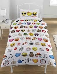 Funny Duvet Sets Emoji Bedding Queen Size Vanvoorstjazzcom