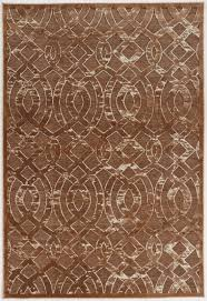 Area Rug Pattern Everly Quinn Kleinschmidt Trellis Brown Area Rug Reviews Wayfair