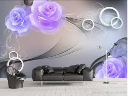 custom any size romantic rose modern background wall mural 3d see larger image