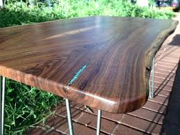 live edge table with turquoise inlay live edge walnut table walnut coffee table with turquoise inlay live