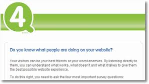 the best online survey for a website yours free