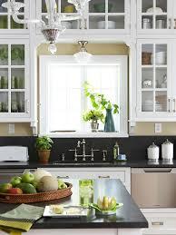 what size cabinet above sink cabinets kitchen sink cottage kitchen bhg