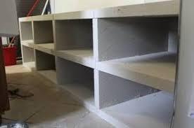 meuble cuisine diy meuble de cuisine en beton cellulaire deco interieur