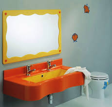 orange bathroom decor bathroom decor