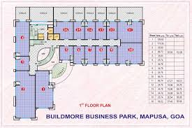 Floor Plan Business Build More Business Park Floor Plan Buildmore Infra India Pvt Ltd