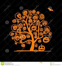 orange halloween tree diy spider ornaments for your halloween tree jennifer perkins