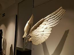 Seeking Wings Sculpture Wings Interventionist Licensed Professional Family