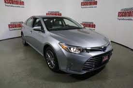 certified used toyota avalon certified pre owned 2017 toyota avalon 4dr car in escondido 60329