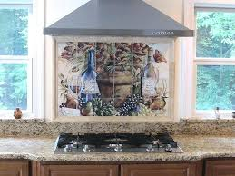 kitchen mural ideas metal tile murals kitchen ideas wine mural this beardlybrothers