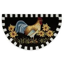 Retro Kitchen Rugs Buy Rooster Rugs From Bed Bath U0026 Beyond