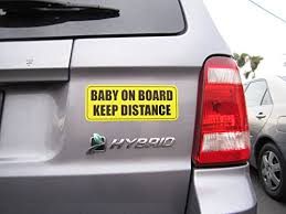 baby on board keep distance car magnet sign for 4 99 from