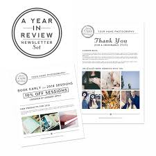 save on year in review newsletter templates for photoshop the