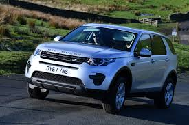 blue land rover discovery land rover discovery sport td4 facelift 2017 review by car magazine