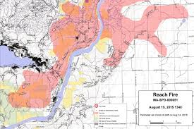 Oregon Fire Map by Lightning Caused Wildfires Destroy Buildings Around Chelan Kuow