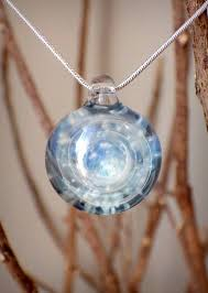 ashes into glass ashes into glass spiral vortex pendant forever fused