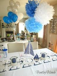 nautical baby shower decorations for home my nautical baby shower dylan baby shower pinterest babies