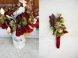 Burgundy Wedding Centerpieces by Rustic Burgundy Gold Wedding Flowers Utah Wedding Florist Calie