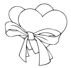 cute heart coloring pages interesting cliparts