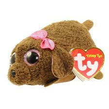 ty beanie boos teeny tys stackable plush maggie poodle 4