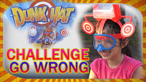 Challenge Water Wrong Dunk Hat Challenge Go Wrong With Water Balloon Fight Dunk Hat