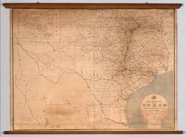 Usps Route Map by Post Route Map Of The State Of Texas David Rumsey Historical Map