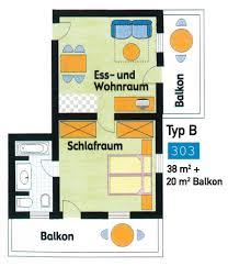 Floor Plan Of Apartment Chalet Alpin