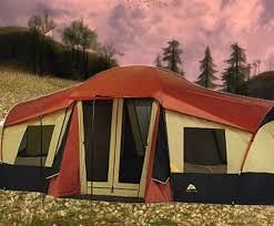 ozark trail 3 room tent part 1 youtube