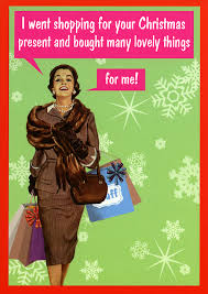 Christmas Shopping Meme - i went shopping for your christmas present and bought many lovely