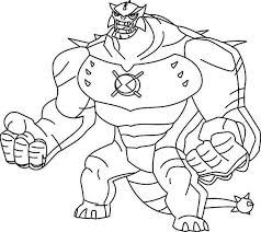 download ben ten omniverse coloring pages ziho coloring