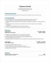 chef resume templates personal resume template 6 free word pdf shalomhouse us