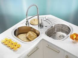 Sink Designs Kitchen Adorable Corner Kitchen Sink Cool Decorating Kitchen Ideas With