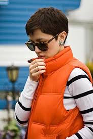 backside of short haircuts pics best 25 short pixie ideas on pinterest short pixie cuts short