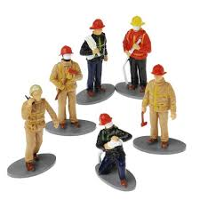 firefighter figurines firefighter figures chicago and cop shop