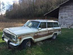 old jeep grand wagoneer 1986 jeep grand wagoneer amc 360 v8 for sale in old fort north carolina