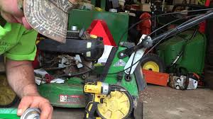 carb cleaning on a john deere jx75 youtube