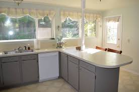 Can I Paint Over Laminate Kitchen Cabinets Painted Oak Cabinets Fabulously Finished