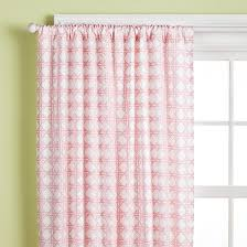 Pink Nursery Curtains Curtains Pink Lattice Print Curtain Panels In Curtains